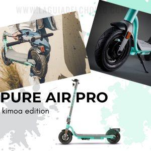 Compra El Patinete Electrico Pure Air Pro Kimoa Edition con el mejor precio online antes del black friday