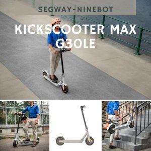 Compra Ya el Ninebot Max G30LE con el Mejor PRecio Online antes del Black Friday