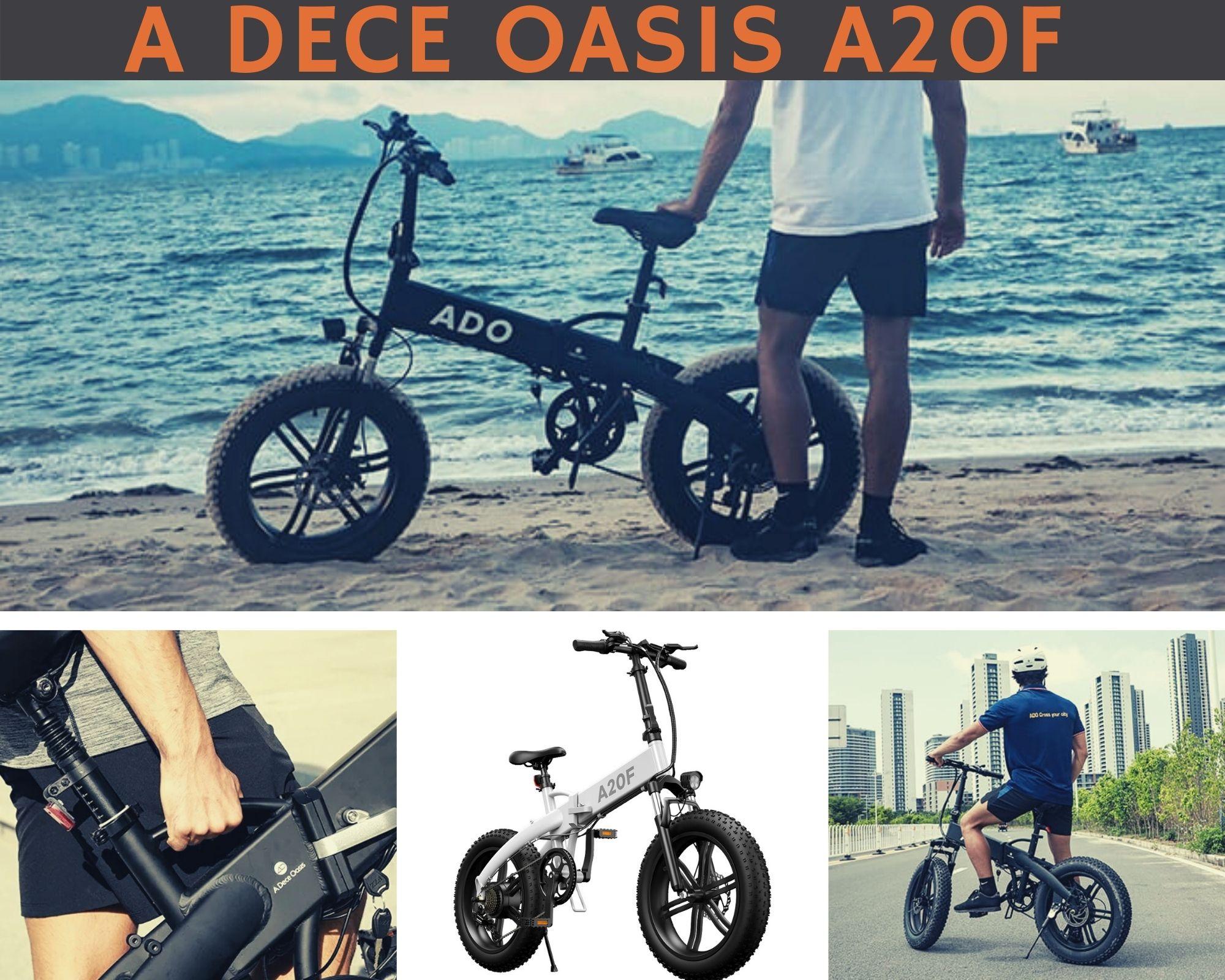 A Dece Oasis A20F, la bicicleta Electrica de Ruedas Gordas que tienes que conocer antes de comprarte una