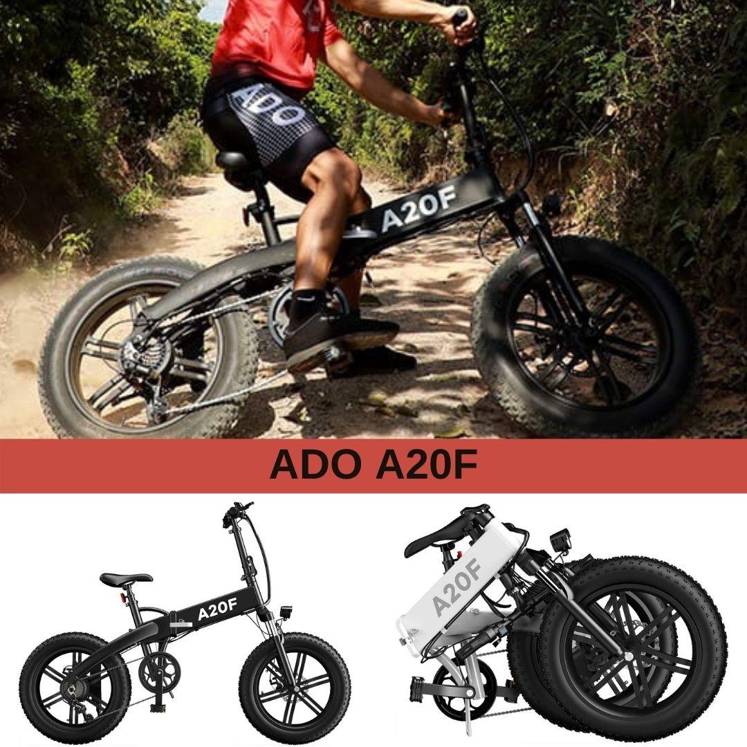Compra la bici electrica ADO A20F con el MEjor Precio Online antes del Black Friday