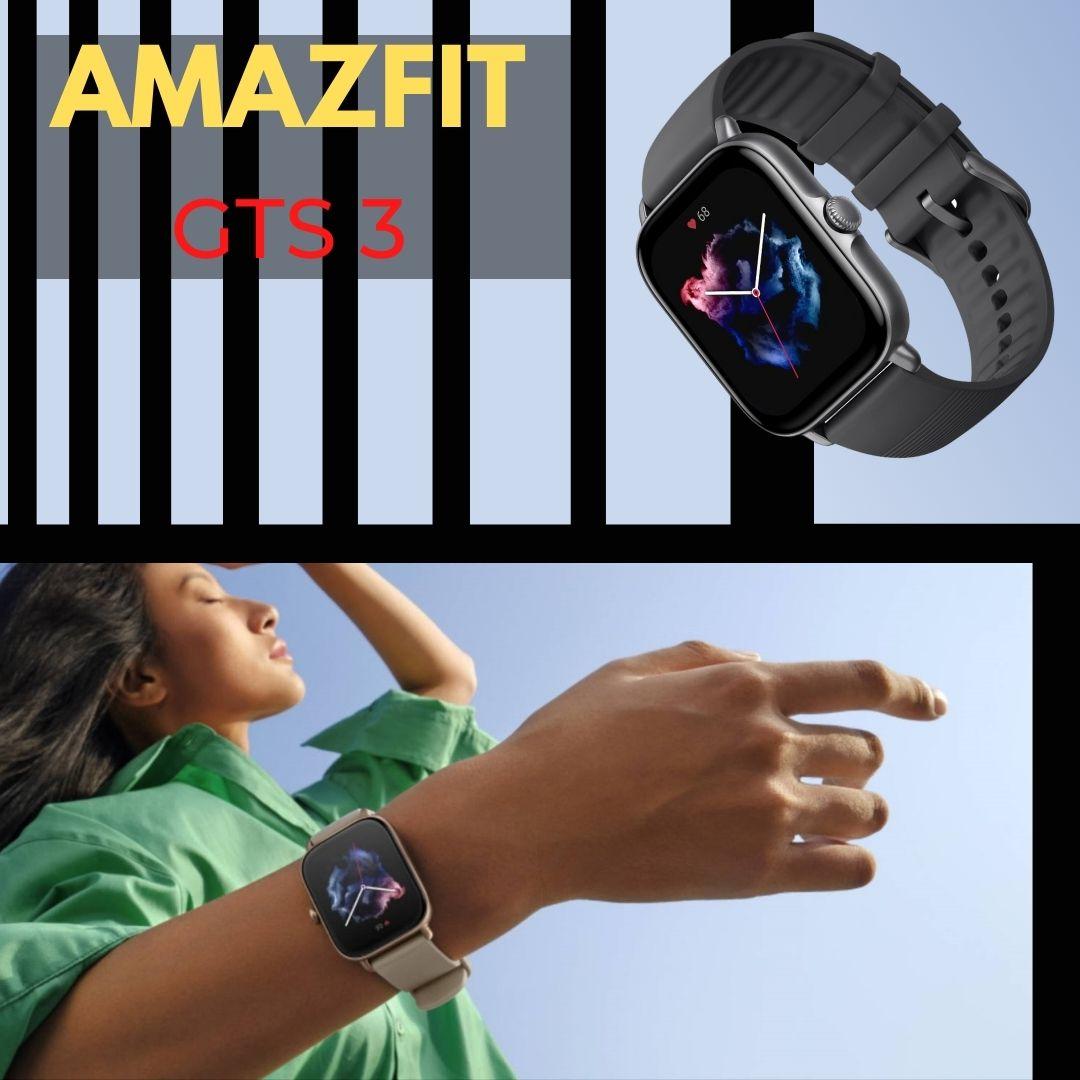 Compra Ya el Amazfit GTS 3 con el Mejor PRecio Online antes del Black Friday